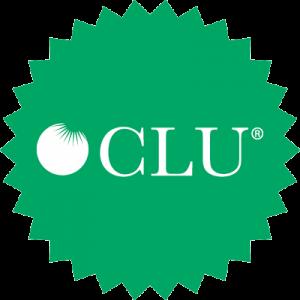Chartered Life Underwriter Designation CLU logo circle 400x400px